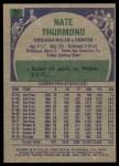 1975 Topps #85  Nate Thurmond  Back Thumbnail