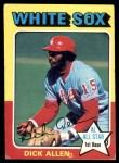 1975 Topps #400  Rich Allen  Front Thumbnail
