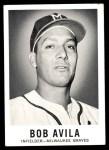 1960 Leaf #59  Bobby Avila  Front Thumbnail