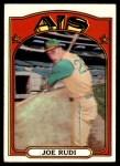 1972 Topps #209  Joe Rudi  Front Thumbnail
