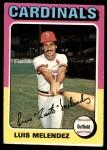 1975 Topps #353  Luis Melendez  Front Thumbnail