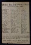 1911 T3 Turkey Red #11  Bill Dahlen   Back Thumbnail