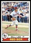 1979 Topps #455  Bill Lee  Front Thumbnail