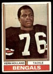 1974 Topps #486  Vern Holland  Front Thumbnail