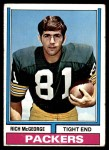 1974 Topps #188  Rich McGeorge  Front Thumbnail