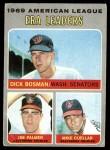 1970 Topps #68   -  Jim Palmer / Dick Bosman / Mike Cuellar AL ERA Leaders Front Thumbnail