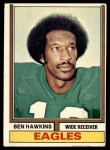 1974 Topps #21 ONE Ben Hawkins  Front Thumbnail