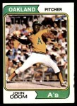 1974 Topps #461  Blue Moon Odom  Front Thumbnail