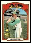 1972 Topps #62  Angel Mangual  Front Thumbnail