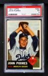 1953 Topps #263  Johnny Podres  Front Thumbnail