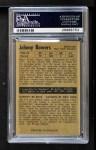 1954 Parkhurst #65  Johnny Bower  Back Thumbnail