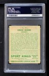 1933 Goudey Sport Kings #19  Eddie Shore   Back Thumbnail