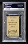 1910 T209-2 Contentnea  Jimmy Callahan  Back Thumbnail