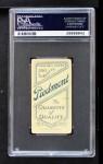 1909 T206 CHI Johnny Evers  Back Thumbnail