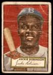 1952 Topps #312  Jackie Robinson  Front Thumbnail