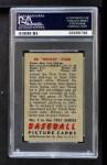 1951 Bowman #1  Whitey Ford  Back Thumbnail