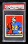 1948 Leaf #6 YEL Bobby Layne  Front Thumbnail