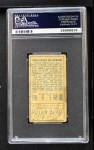 1911 T205  Christy Mathewson  Back Thumbnail