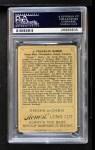 1912 T227 #1 HLC Home Run Baker  Back Thumbnail