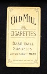 1909 T206  Lee Quillin  Back Thumbnail