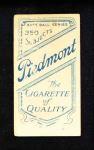 1909 T206 AIR John McGraw  Back Thumbnail