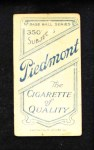 1909 T206  Emil Batch  Back Thumbnail