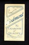 1909 T206  Lou Ritter  Back Thumbnail