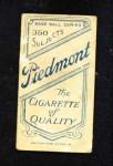 1909 T206  Billy Maloney  Back Thumbnail