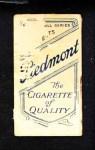 1909 T206 POR Clark Griffith  Back Thumbnail
