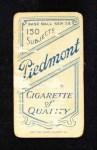1909 T206  Claude Ritchey  Back Thumbnail
