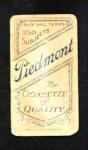 1909 T206  John Ganzel  Back Thumbnail