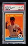 1958 Topps #61 YN Darrell Johnson  Front Thumbnail
