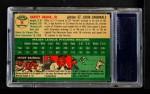 1954 Topps #9  Harvey Haddix  Back Thumbnail