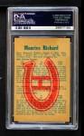 1960 Parkhurst #45  Maurice Richard  Back Thumbnail