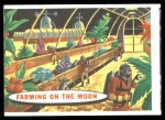 1957 Topps Target Moon #61   Farming on the Moon Front Thumbnail