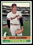 1976 Topps #638  Doyle Alexander  Front Thumbnail