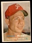 1957 Topps #265  Harvey Haddix  Front Thumbnail