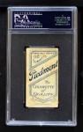 1909 T206 POR Sherry Magee  Back Thumbnail
