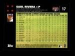 2007 Topps #17  Saul Rivera  Back Thumbnail