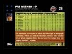 2007 Topps #29  Pat Neshek  Back Thumbnail