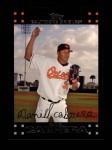 2007 Topps #54  Daniel Cabrera  Front Thumbnail