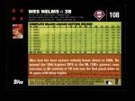 2007 Topps #108  Wes Helms  Back Thumbnail