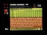 2007 Topps #123  Chone Figgins  Back Thumbnail