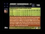2007 Topps #155  Jeremy Bonderman  Back Thumbnail