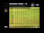 2007 Topps #161  Eduardo Perez  Back Thumbnail
