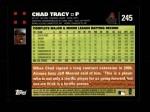 2007 Topps #245  Chad Tracy  Back Thumbnail