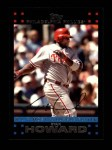 2007 Topps #322   -  Ryan Howard Most Valuable Player Front Thumbnail