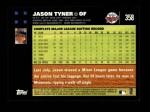2007 Topps #358  Jason Tyner  Back Thumbnail
