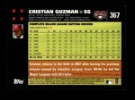 2007 Topps #367  Cristian Guzman  Back Thumbnail