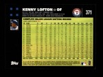 2007 Topps #371  Kenny Lofton  Back Thumbnail